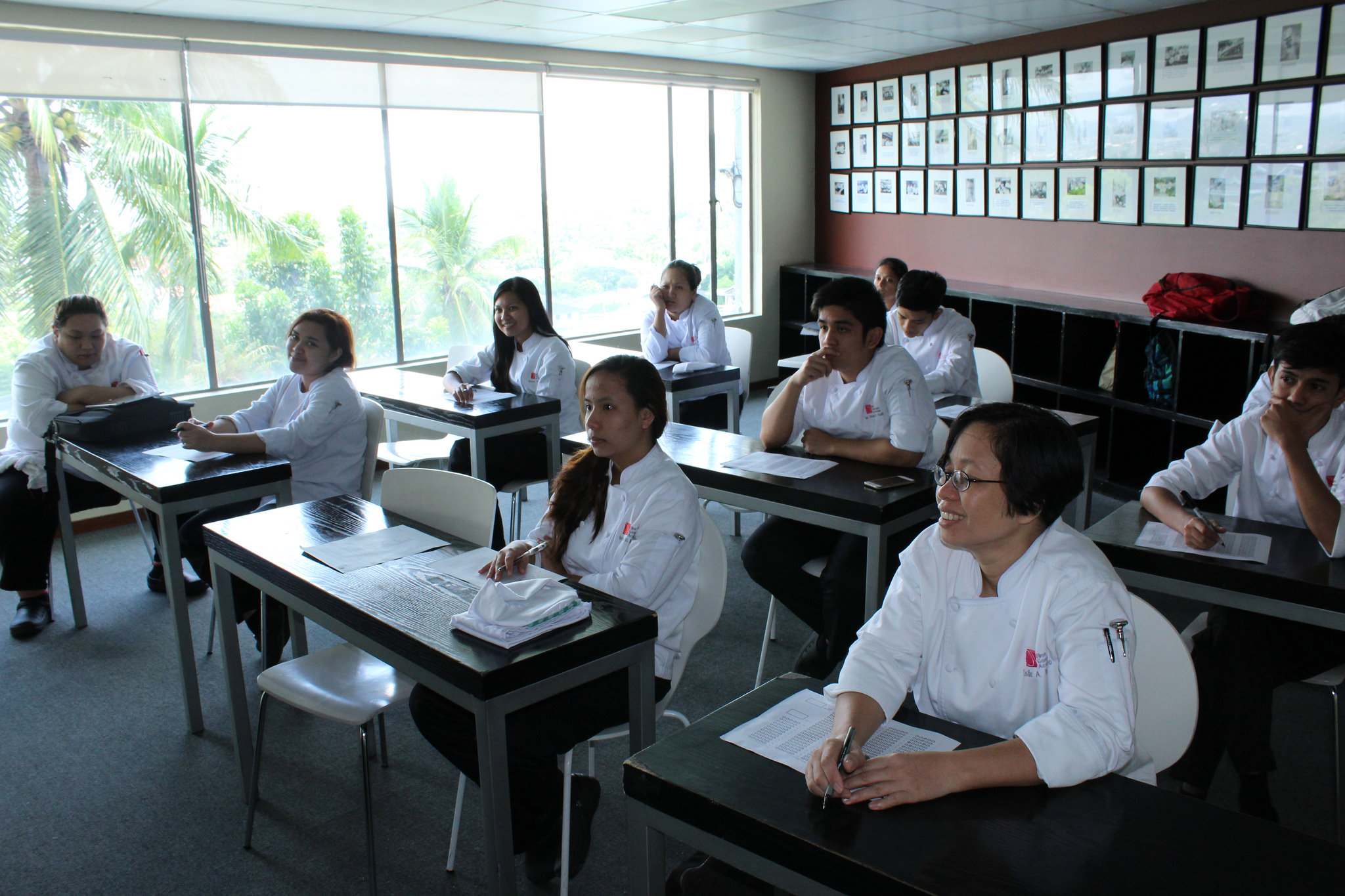 First Gourmet Academy Lecture Room