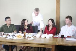 kris tv visits first gourmet academy and fika first gourmet academy
