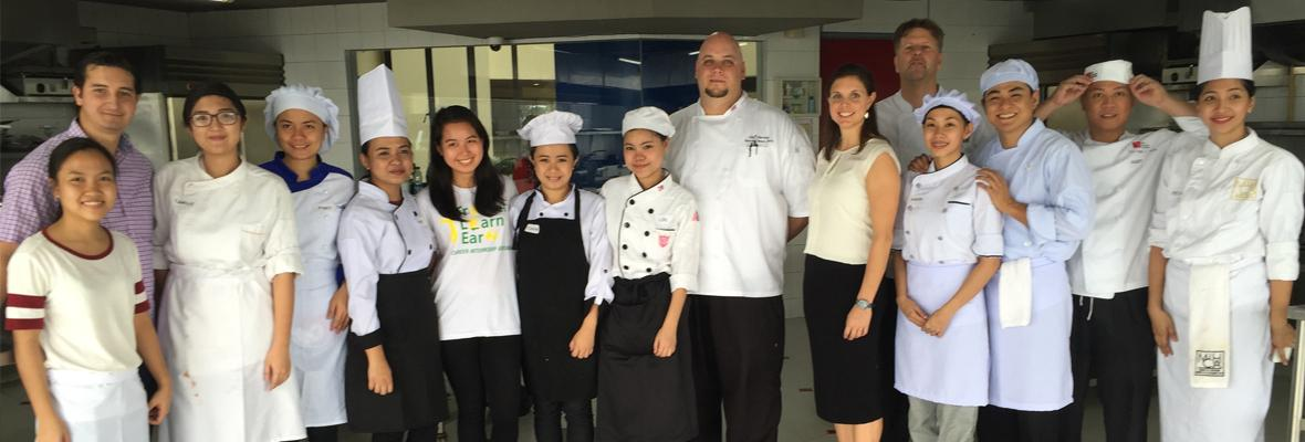 Career Internship Abroad (CIA) Holds Culinary Hiring Fair at First Gourmet Academy