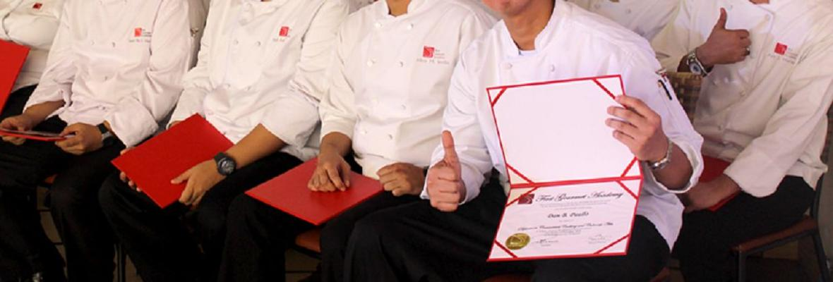 January 2016 Top Culinary Graduates of First Gourmet Academy 1