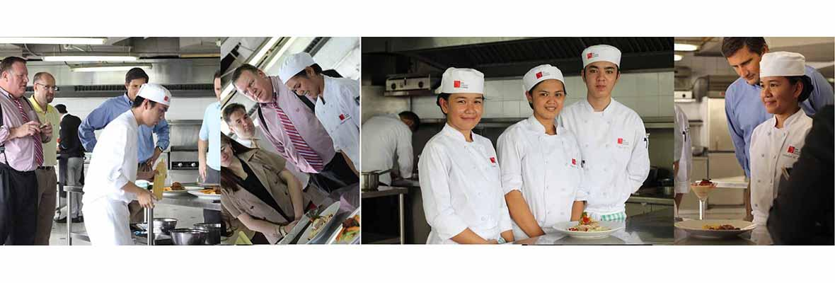 Zip Travel International Holds Cook Off at First Gourmet Academy